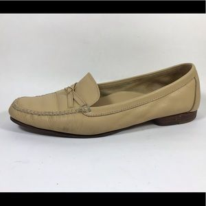 Cole Haan Tan Leather Loafers Women's Sz 7B